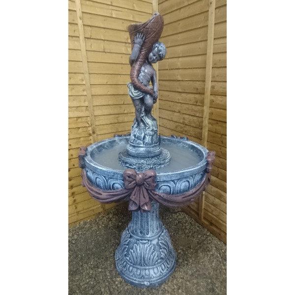 Shell Boy Fountain