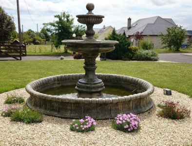 Two Tier Fountain With Surround