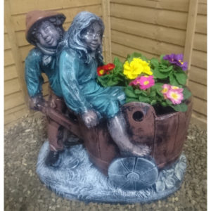 Jack and Jill Planter
